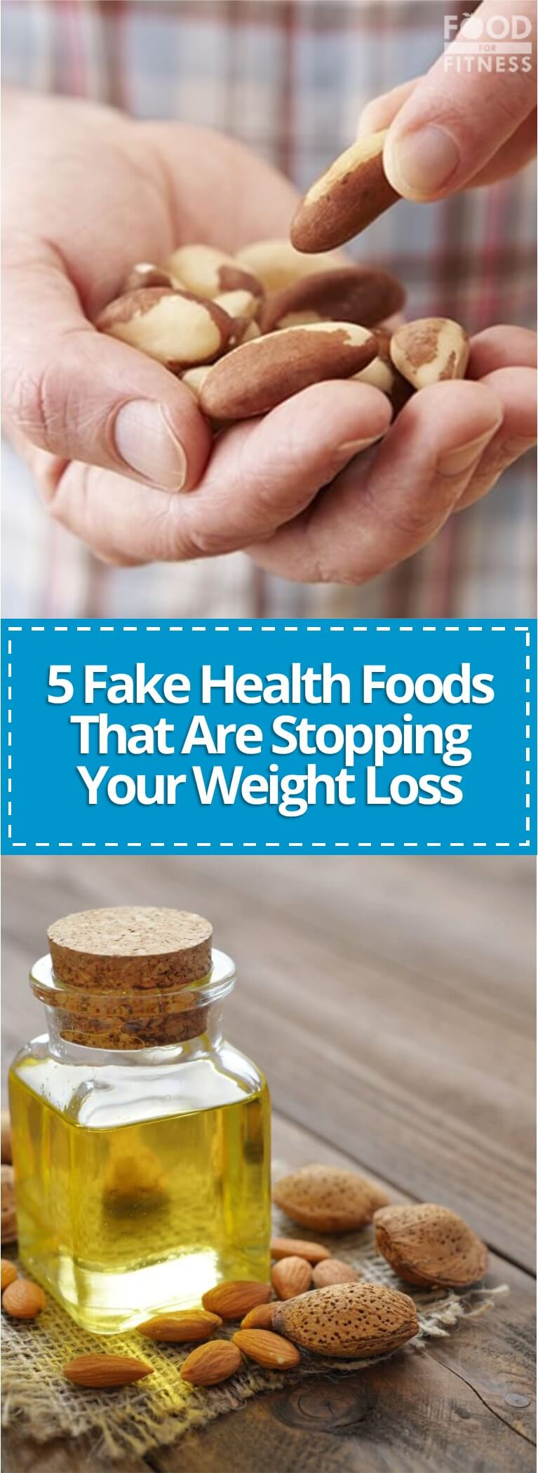5 Fake Health Foods That Are Stopping Your Weight Loss