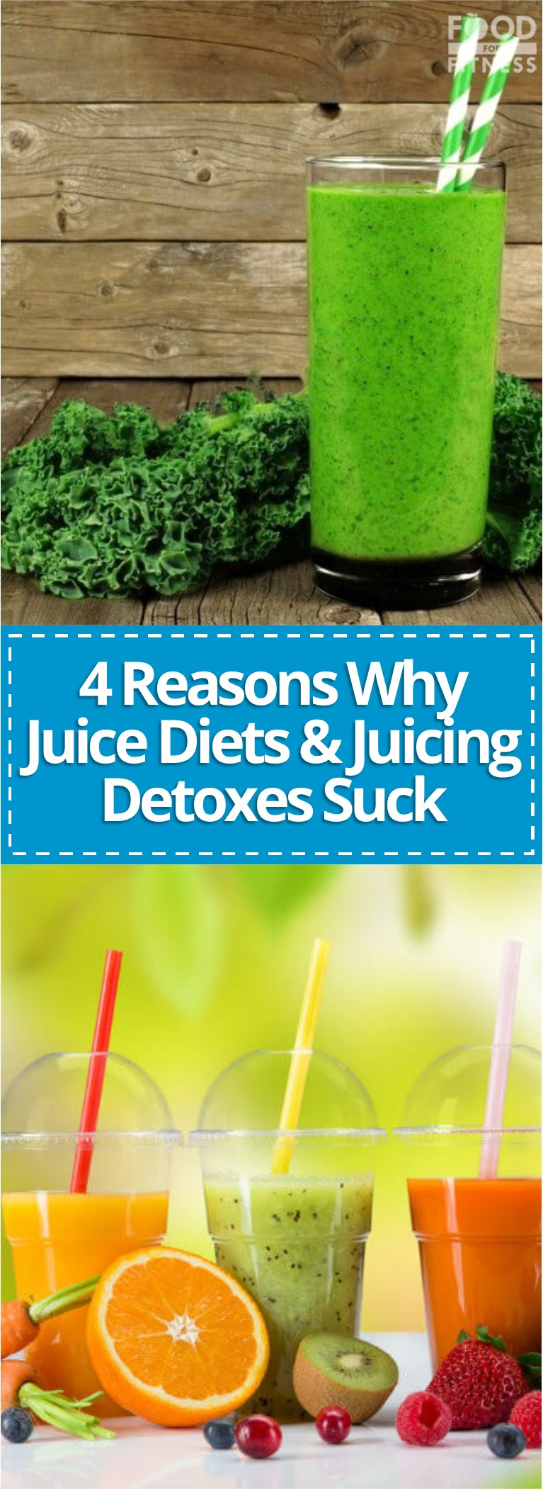 Juice Detoxes Suck - 4 Reasons Why Juicing Is NOT Good For Losing Fat!