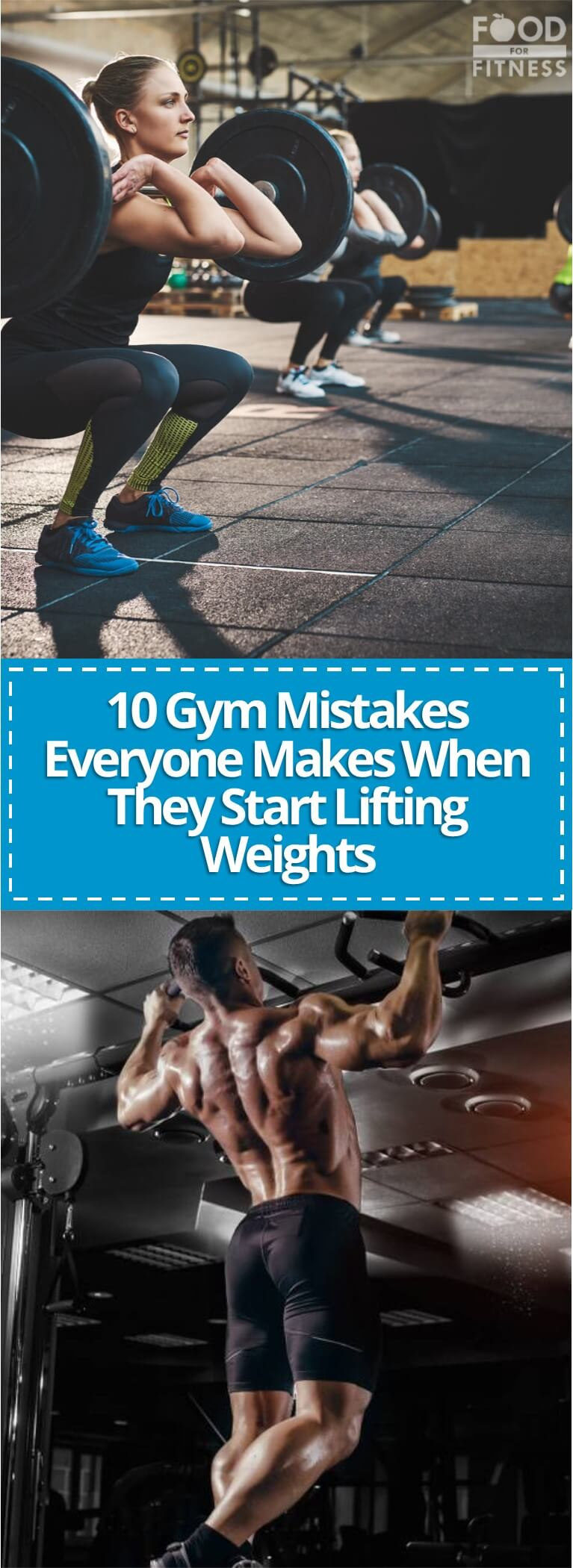 Here are 10 gym mistakes that everyone makes when they start lifting weights.
