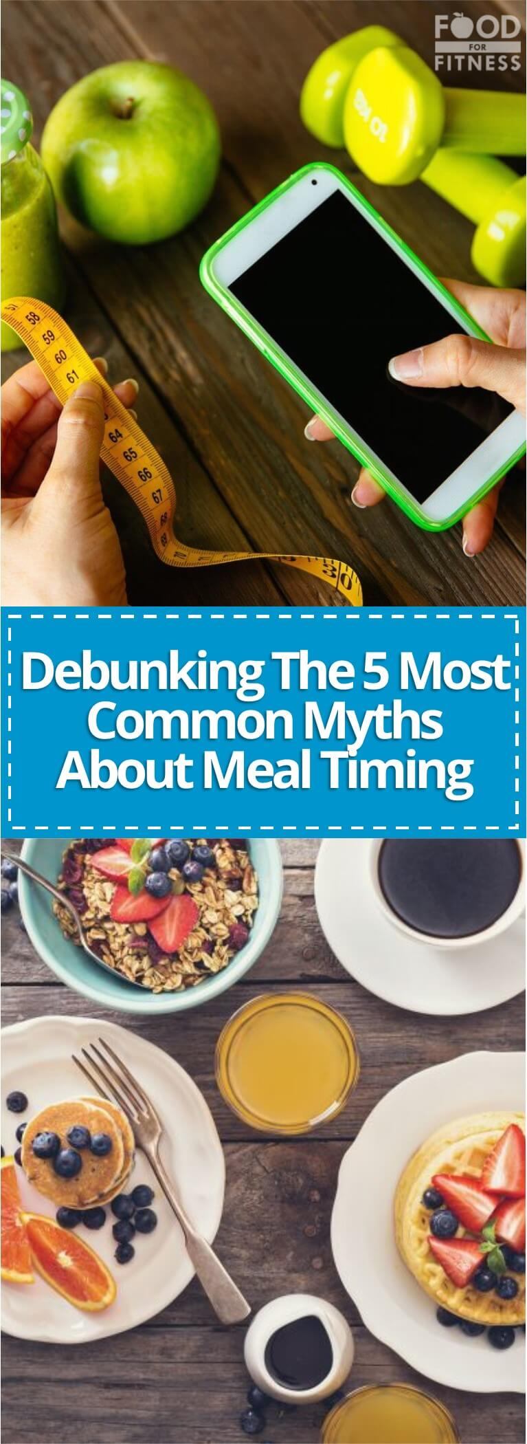 Confusing meal timing myths can make healthy eating a struggle!