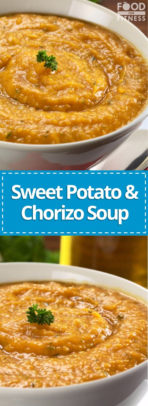 Sweet Potato Chorizo Soup The Best Soup You Ll Ever Make Possibly