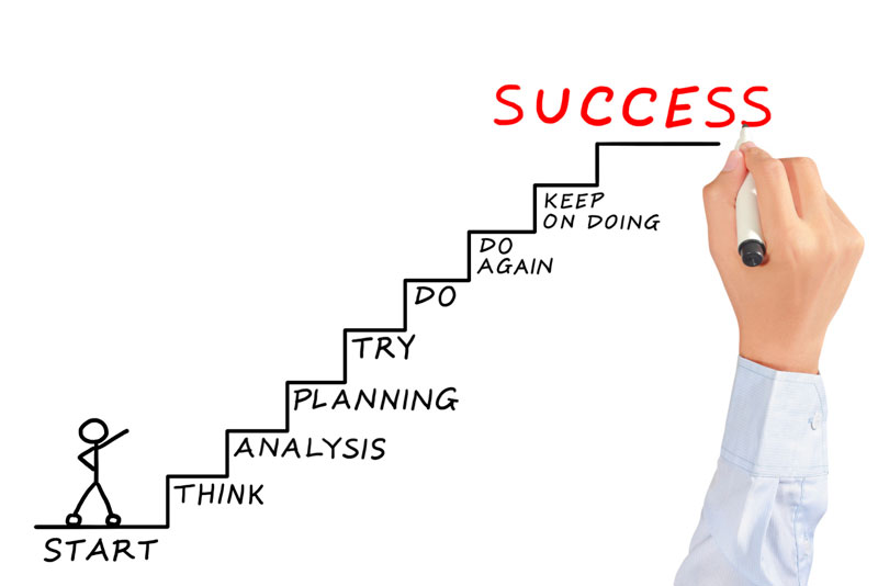 stairways to success
