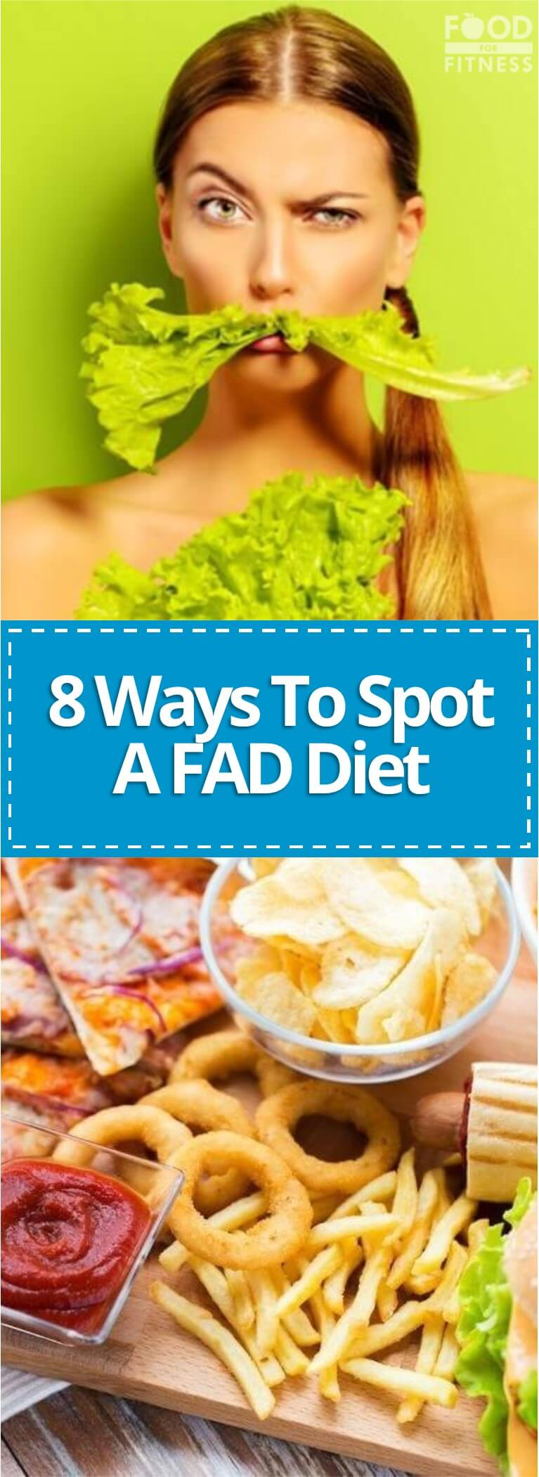 Here are the top 8 ways to spot FAD diets, to ensure you save your cash and your dignity.