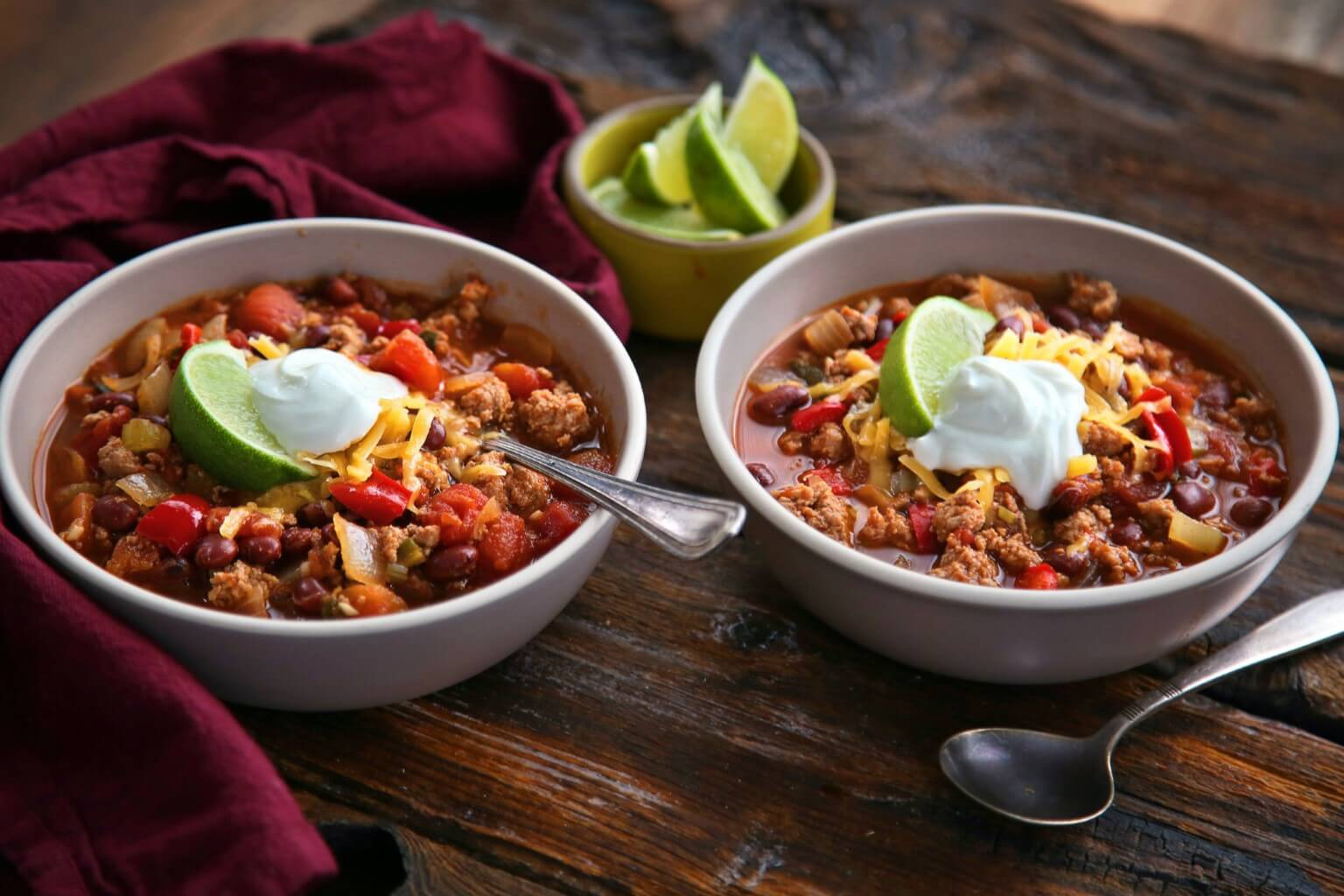 turkey chilli recipe