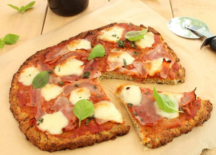 high protein, low carb pizza
