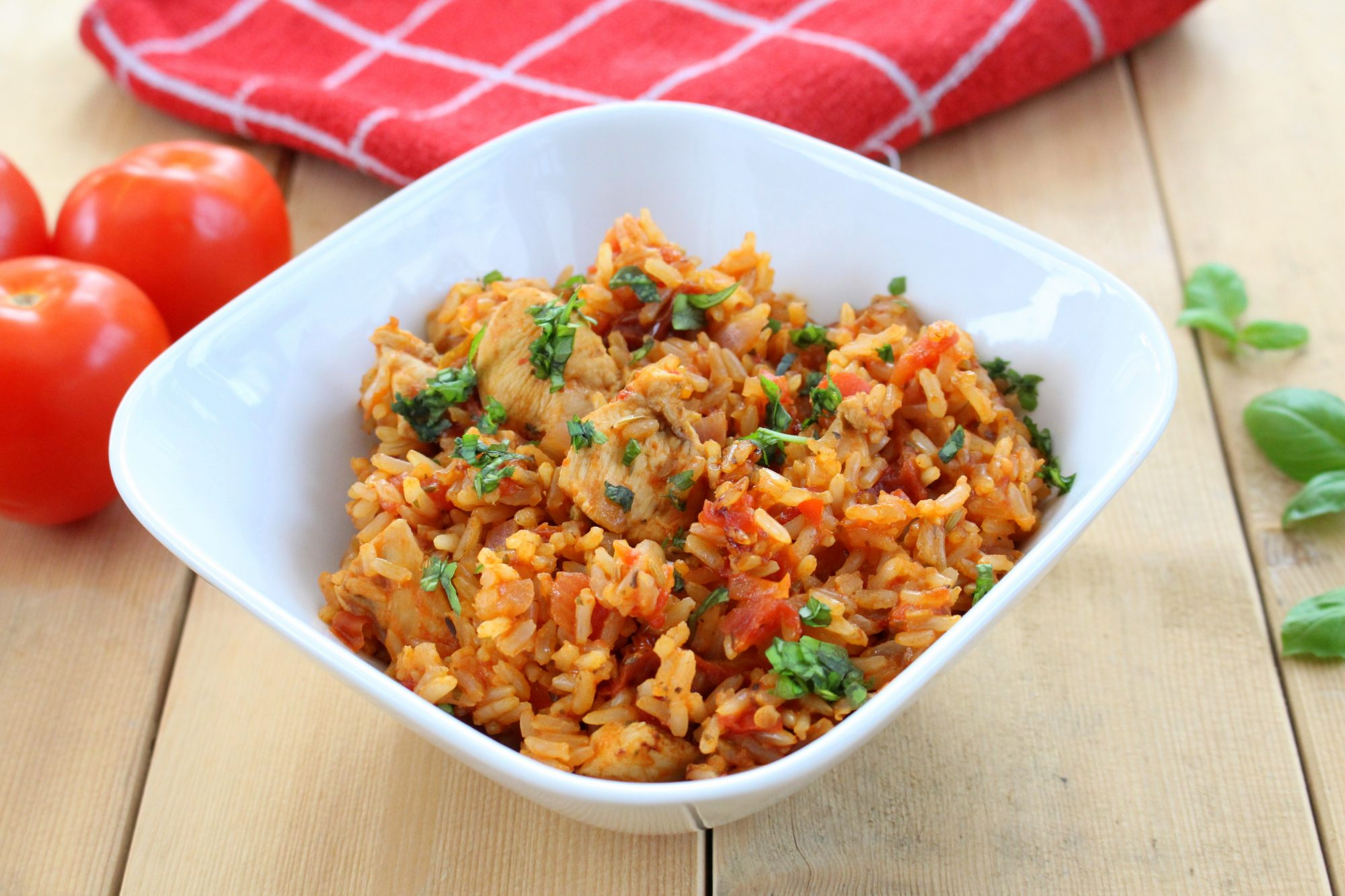 Italian Chicken Jambalaya Recipe