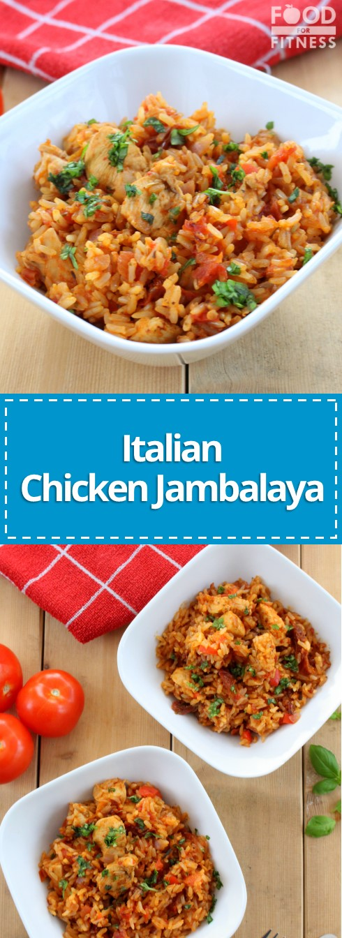 Italian Chicken Jambalaya Recipe | #chicken #recipe