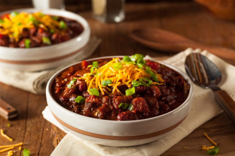 low carb chilli con carne recipe
