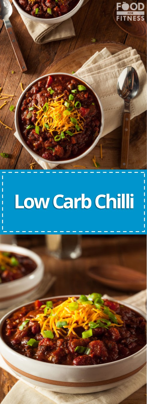 Low Carb Chilli Con Carne Reipce | #chilli #lowcarb