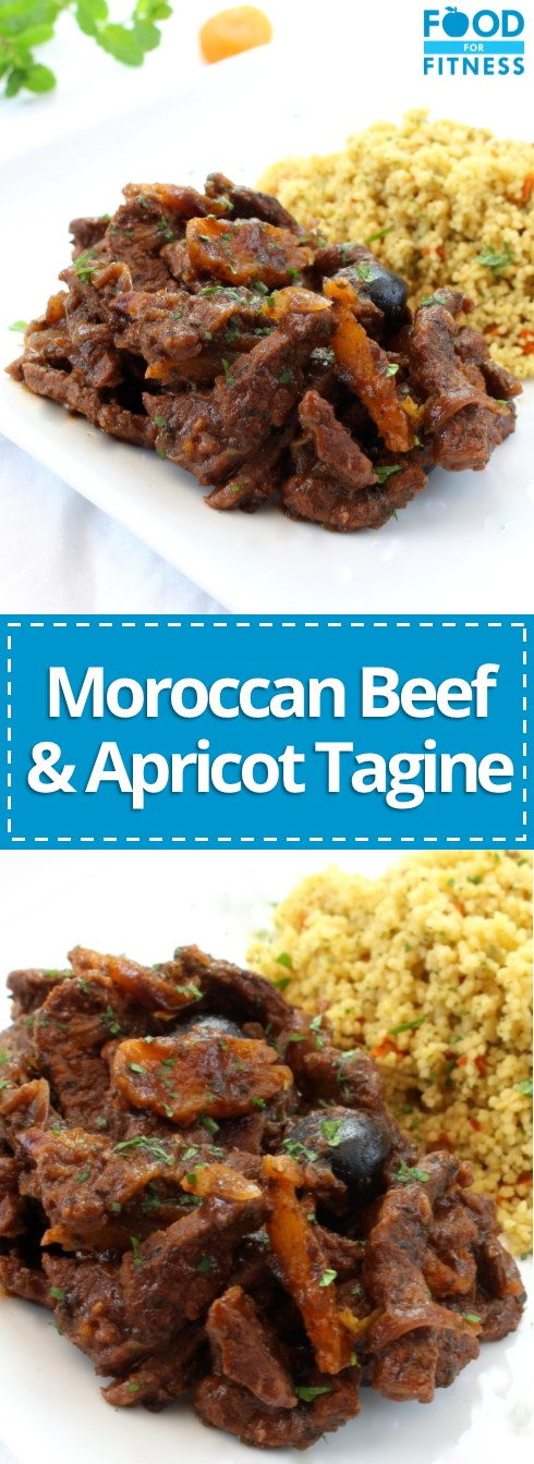 Moroccan Beef & Apricot Tagine Recipe | #moroccan #tagine #recipe