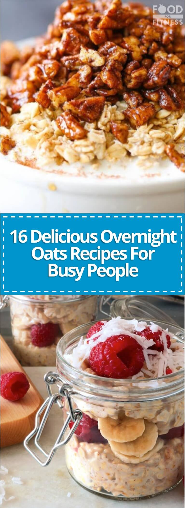 Cheap and simple to make, these overnight oats recipes are epic for folks who are short of time but still want filling, nutritious and delicious breakfasts.