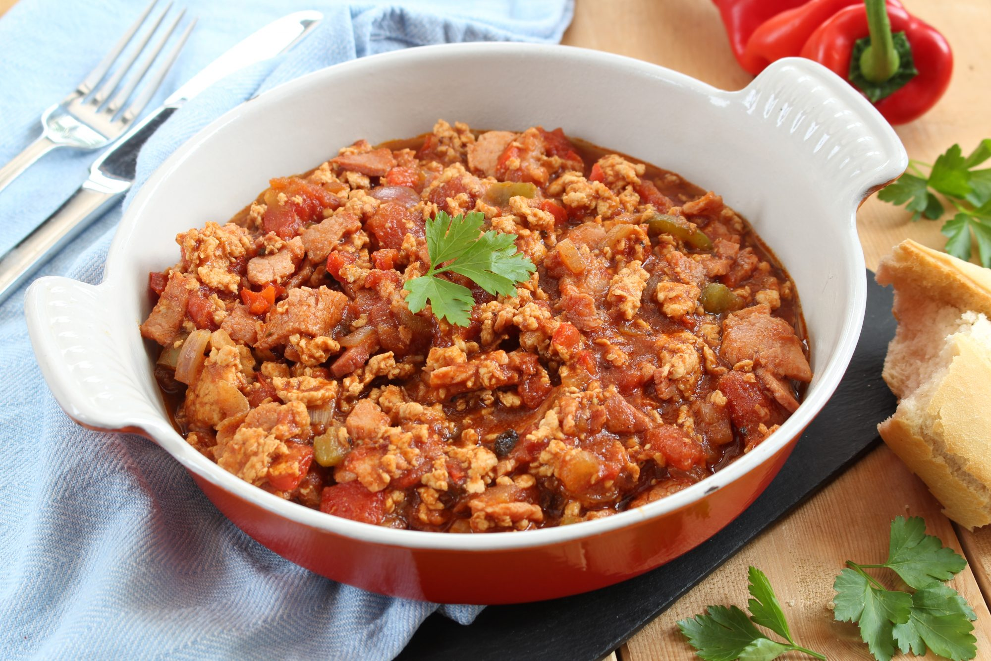 bacon and turkey chilli recipe