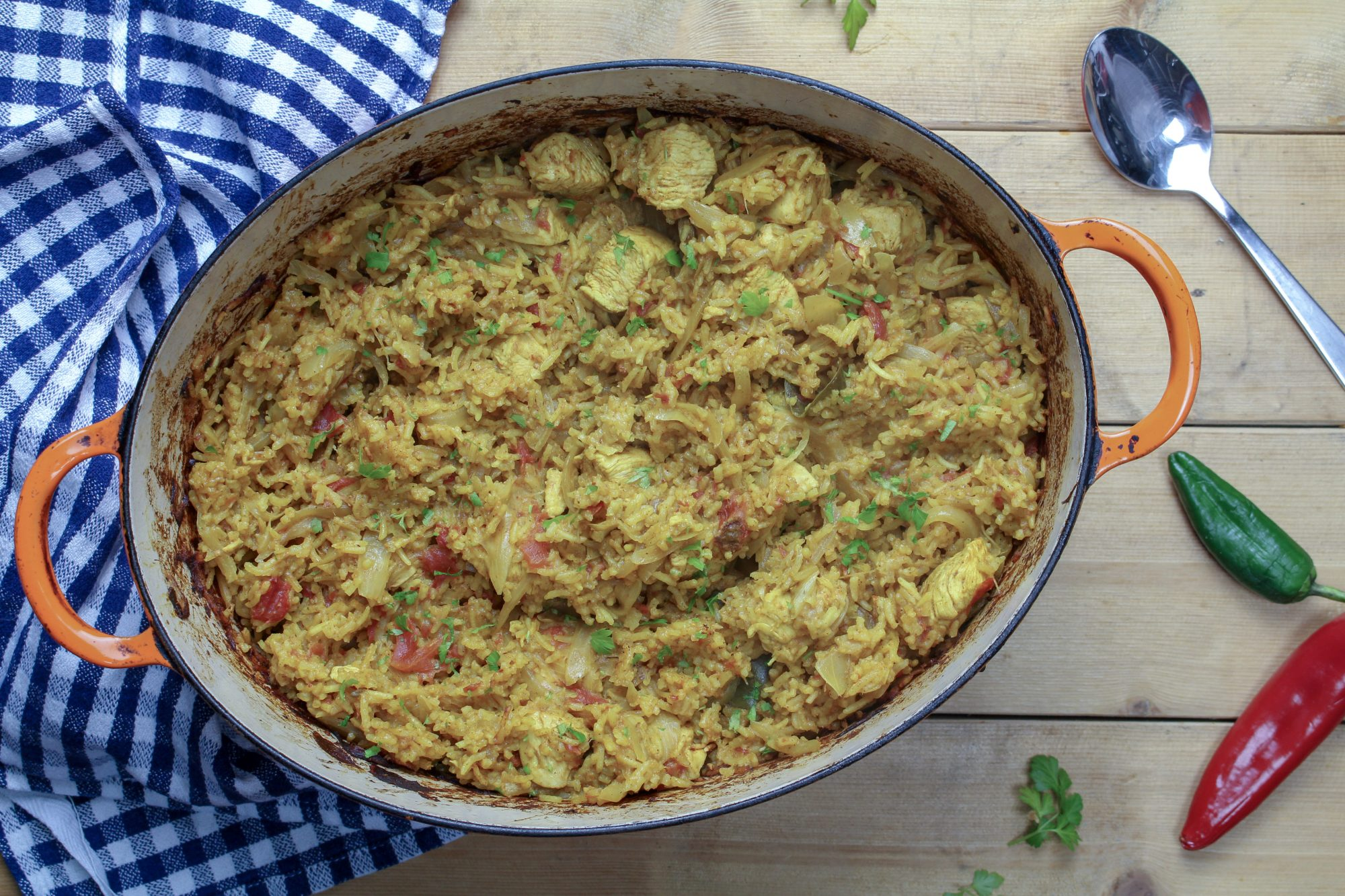 Authentic Indian Chicken Pilau