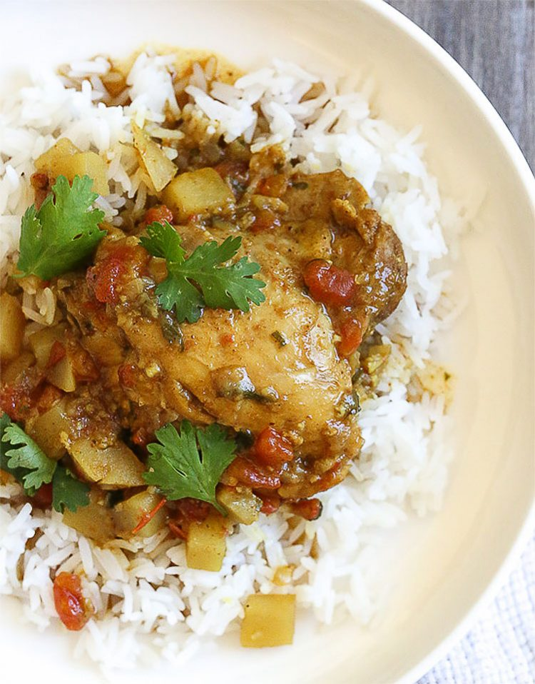 Chicken Curry with Coconut Milk, Healthy Curry Recipes