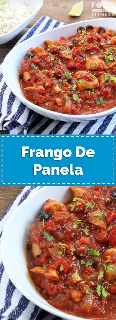 Frango De Panela Recipe | #Brazilian #healthy #chicken #recipe