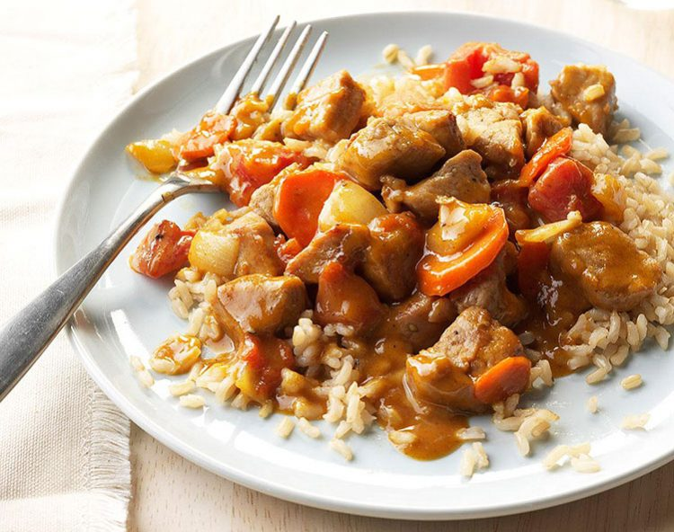 Peanut Butter Pork Curry, Healthy Curry Recipes