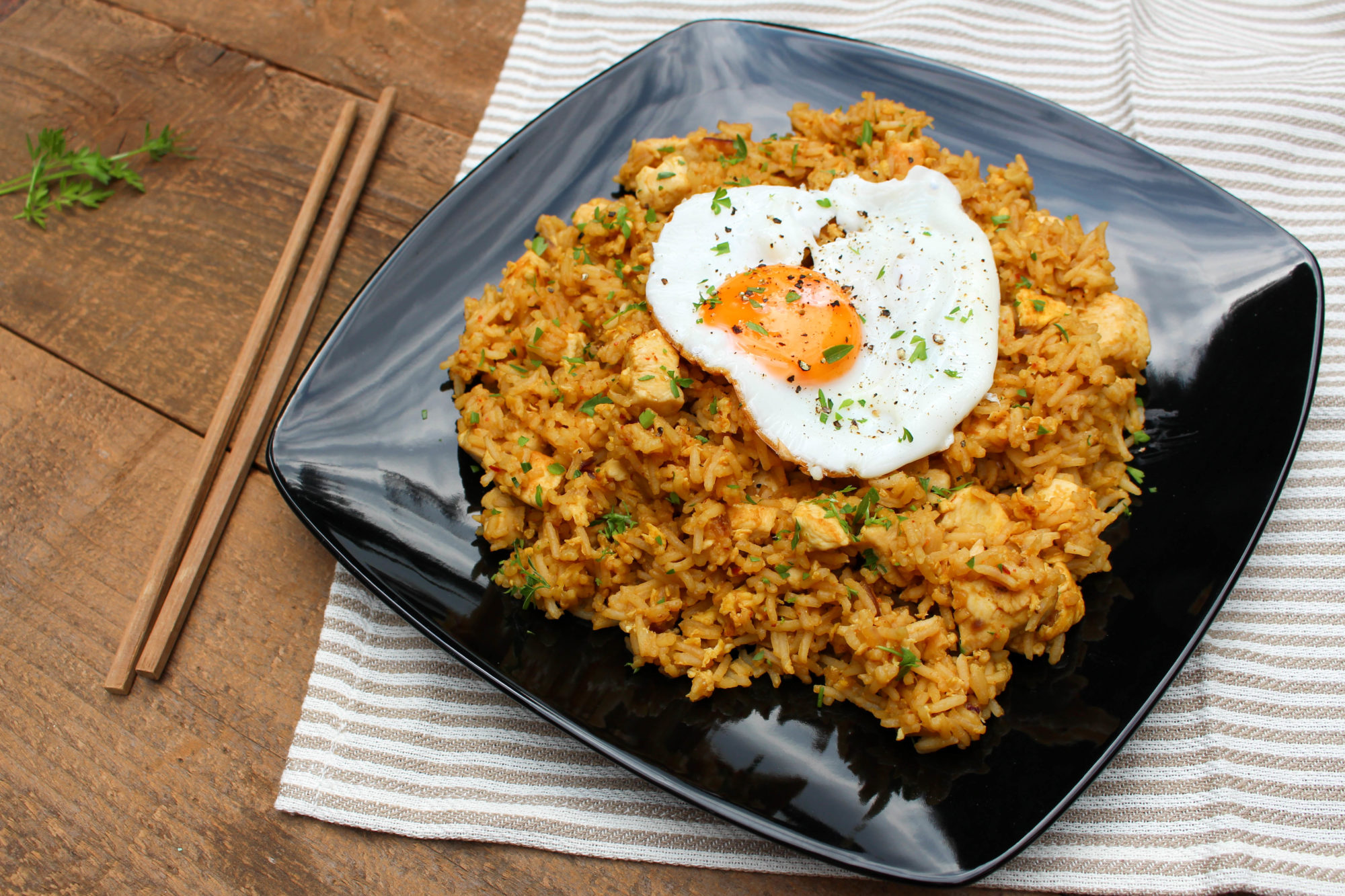 Nasi goreng indonesian fried rice authentic street food recipe nasi goreng recipe ccuart Gallery