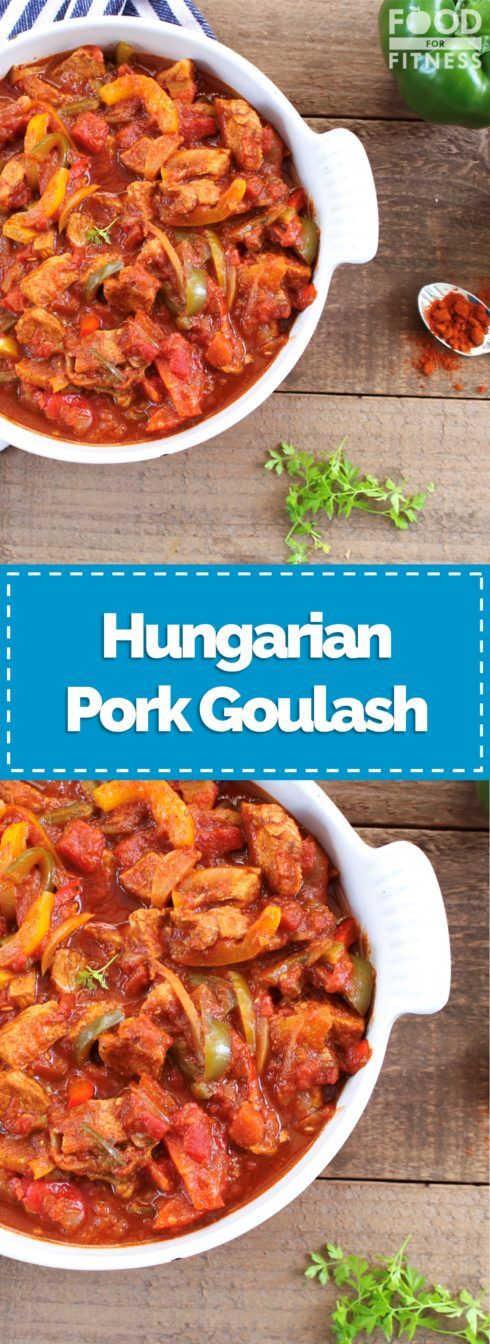 Hungarian Pork Goulash | #goulash #hungarian #pork #recipe